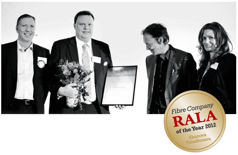 Rala - fibre company of the year, 2012